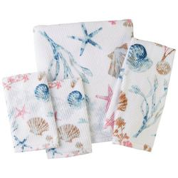 Seashore Shell Towel Collection