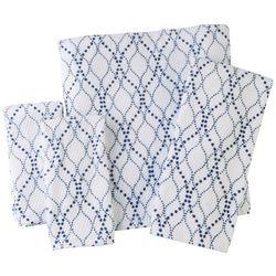Panama Jack Blue Waves Towel Collection