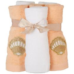 6-pk. Seashell Wash Cloths
