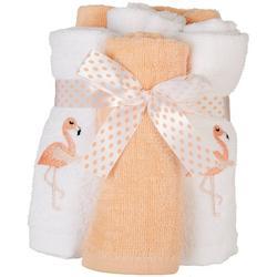 6-pk. Flamingo Wash Cloths