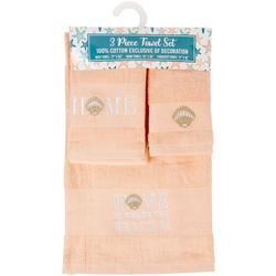 3-pc. Home Is Where The Beach Is Towel Set