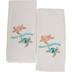 2-pc. Trust The Journey Hand Towel Set