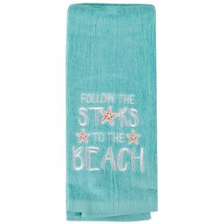 2-pc. Follow The Stars To The Beach Hand Towel Set