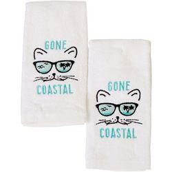 ATI 2-pc. Gone Coastal Fingertip Towel Set