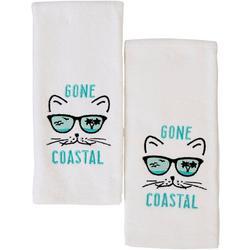 2-pc. Gone Coastal Hand Towel Set