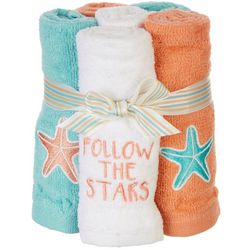 ATI 4-pc. Follow The Stars Wash Cloth Set