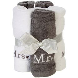 ATI 4-pc. Mr. & Mrs. Wash Cloth Set