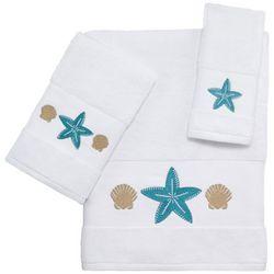 Coastal Blue Cove Bath Towel Collection