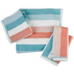 Caro Home Dana Stripe Towel Collection