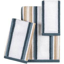 Caro Home Isle Stripe Towel Collection