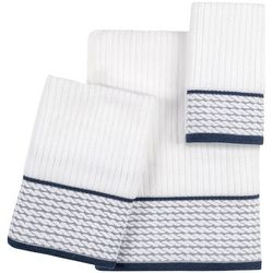 Caro Home Rope Matlasse Towel Collection