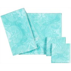 Caro Home Seahorse Dot Towel Collection