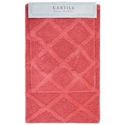 2-pc. Castile Bath Rug