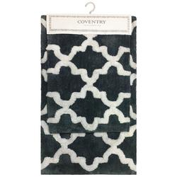 2-pc. Coventry Trellis Bath Rug