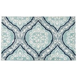 Devgiri Colortech Scroll Work Bath Rug