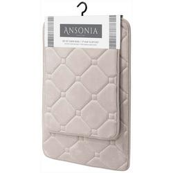 2-pk. Ansonia Memory Foam Bath Rug