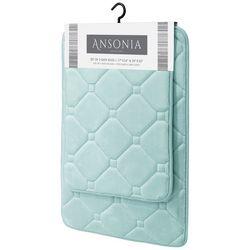 CHD Home Textiles 2-pk. Ansonia Memory Foam Bath Rug