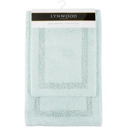 CHD Home Textiles 2-pc. Lynwood Collection Bath Rug Set