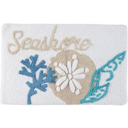 Signature Collection Seashore Shells Bath Mat