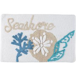 Signature Collection Seashore Shells Bath Mat