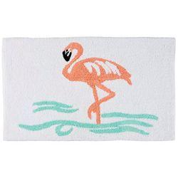 Signature Collection Flamingo Bath Mat