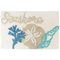 Panama Jack Seashore Shells Bath Rug