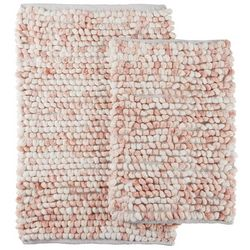 2-pc. Adelaide Space Dye Bath Rug Set