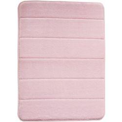 Chesapeake Merchandising Memory Foam Solid Stitch Bath Rug