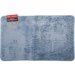Dry Fresh Antibacterial Embossed Memory Foam Bath Mat