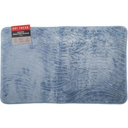 Antibacterial Embossed Memory Foam Bath Mat