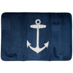 Mohawk Nautical Anchor Bath Rug