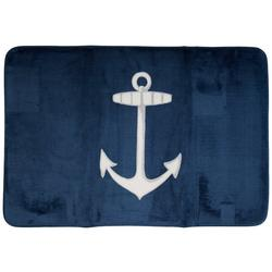 Nautical Anchor Bath Rug