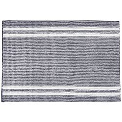 VCNY Home Stripe Chenille Noodle Bath Rug