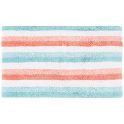 Stripe Print Bath Rug
