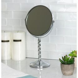 Home Basics Spiral Bi-View Cosmetic Mirror