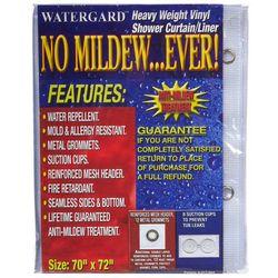 Clorox Medium Weight Frosty Shower Curtain Liner