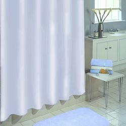 Excell Home Fashions White Shower Curtain