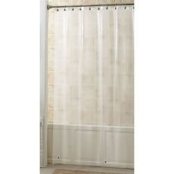 Excell Home Fashions Peva Frost Shower Curtain