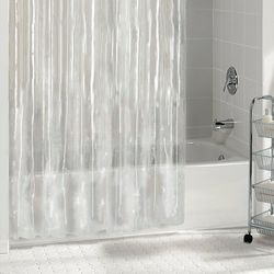 Excell Home Fashions 5.5 Gauge PEVA Shower Curtain