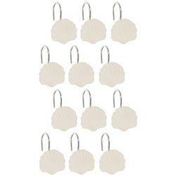 Creative Bath Ipanema 12-pc. Shell Shower Curtain Hooks