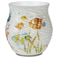 Creative Bath Rainbow Fish Wastebasket