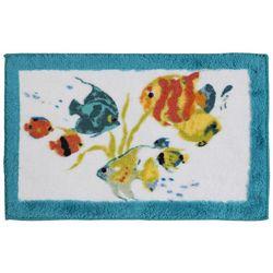 Rainbow Fish Bath Rug