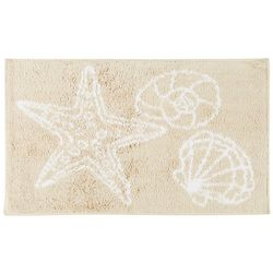 Ipanema Starfish & Shell Bath Rug