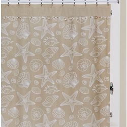 Creative Bath Ipanema Shell Shower Curtain