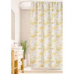 Homewear Distressed Wildflower Shower Curtain