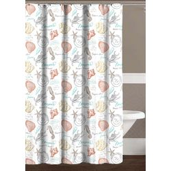 CHD Home Textiles Aruba Shower Curtain With Hooks