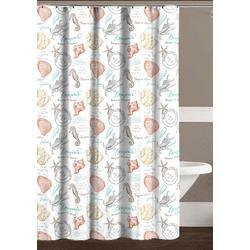 Aruba Shower Curtain With Hooks
