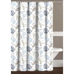 Aruba Shower Curtain With Hooks