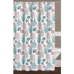 Ashbury Park Shower Curtain With Hooks