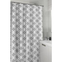 CHD Home Textiles Trellis Shower Curtain With Hooks